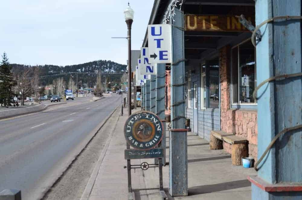 Here's a look at the oldest bar and restaurant in the downtown Woodland Park, The Historic Ute Inn.