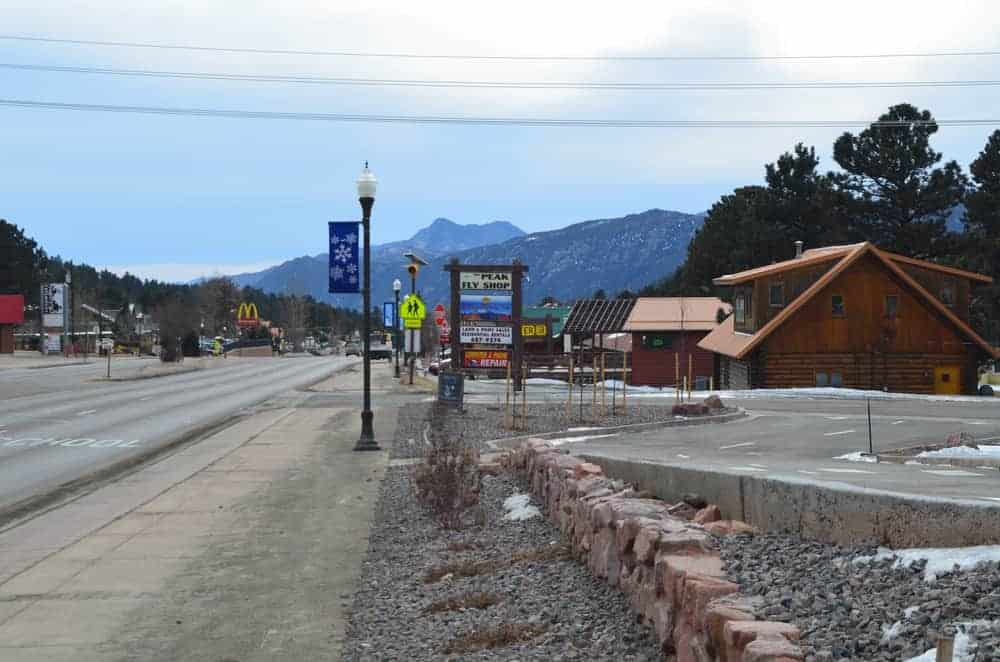 The Peak Fly Shop can be spotted looking south of Colorado Springs. A great place for fishing enthusiast.