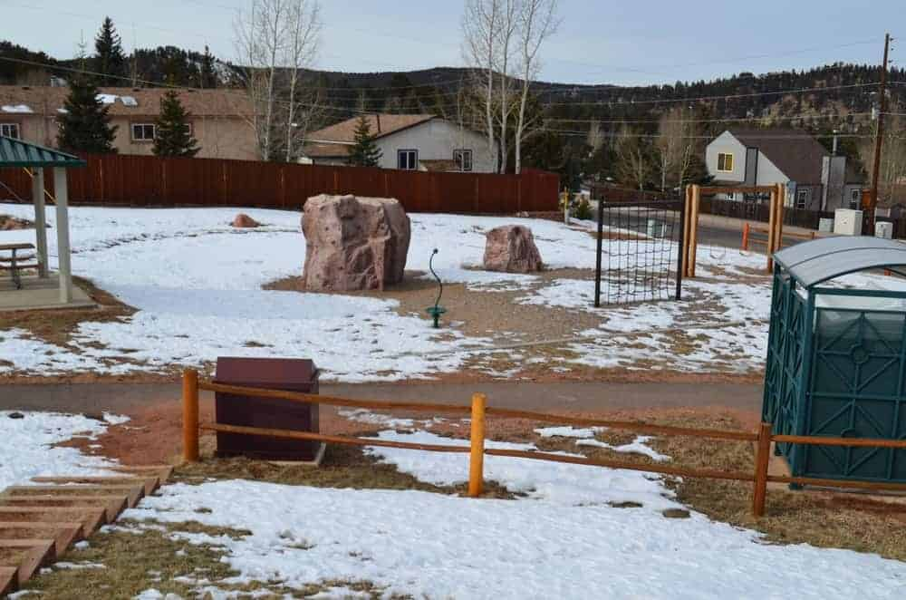 The Red Mountain Adventure Park Playground offers a wide course where people can skate, cycle and even do some climbing. Lots of fun can be found in this playground.