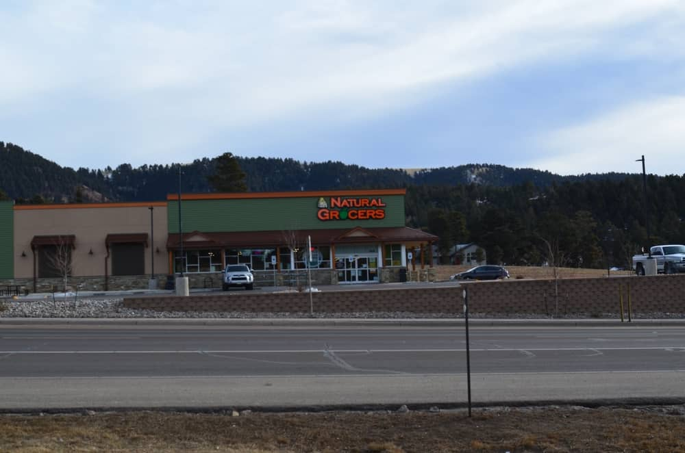 The town also has a Natural Grocers, offering groceries, especially organic products to the residents of the area.