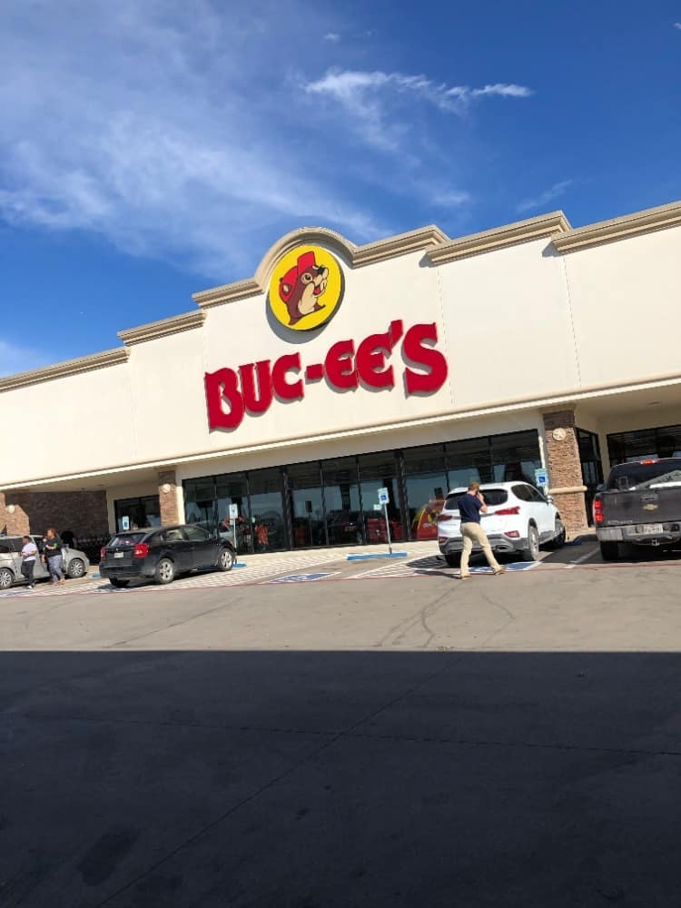 A front view of Buc-ee's in Bastrop. Buc-ee's can be found all around Texas.