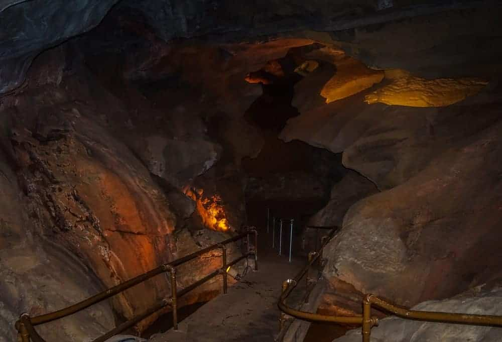 Cave of the Winds Below Ground