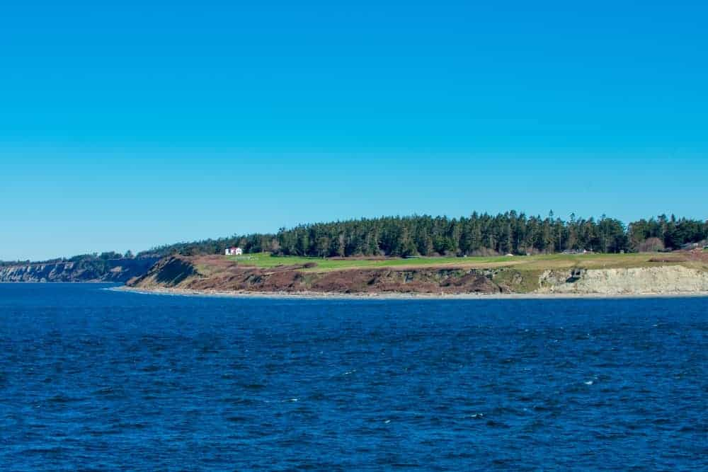 A view of Fort Casey in Whidbey Island.