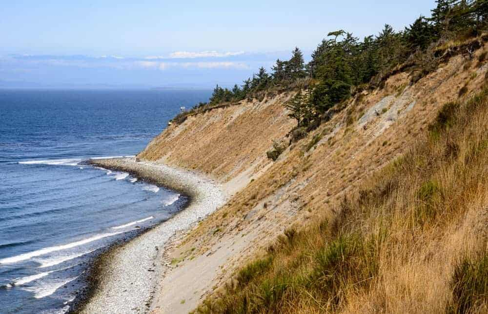 A view of the Fort Ebey State Park.