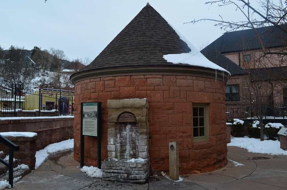 The site of the Manitou Springs' Mineral Springs.