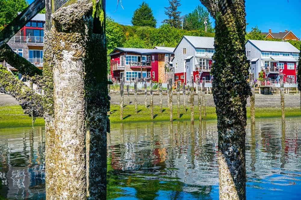 A look at the Langley Marina of Whidbey Island.