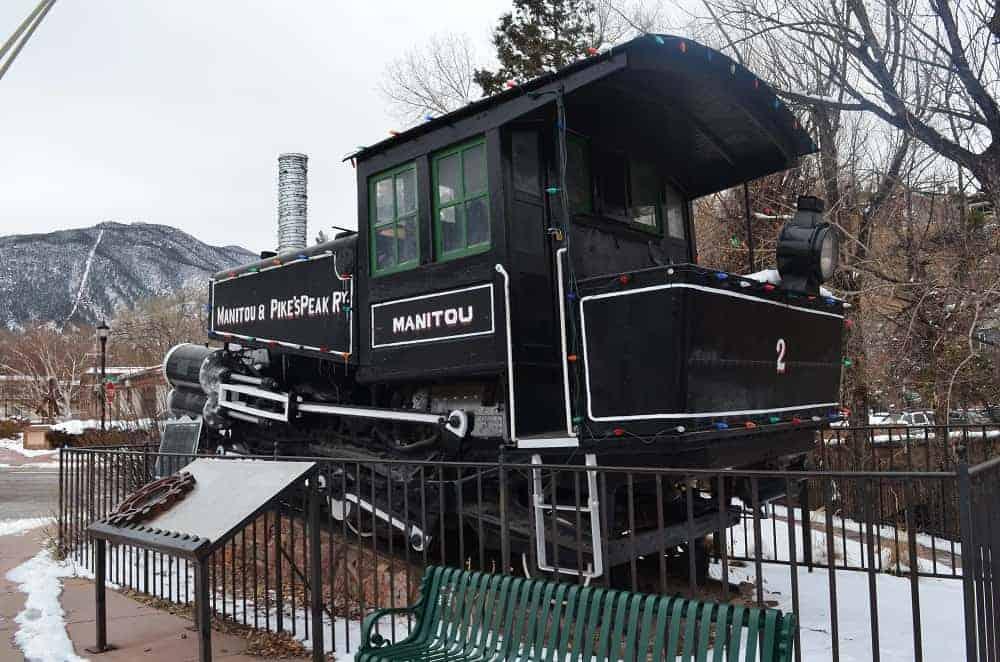 Manitou and Pikes Peak Railroad Engine
