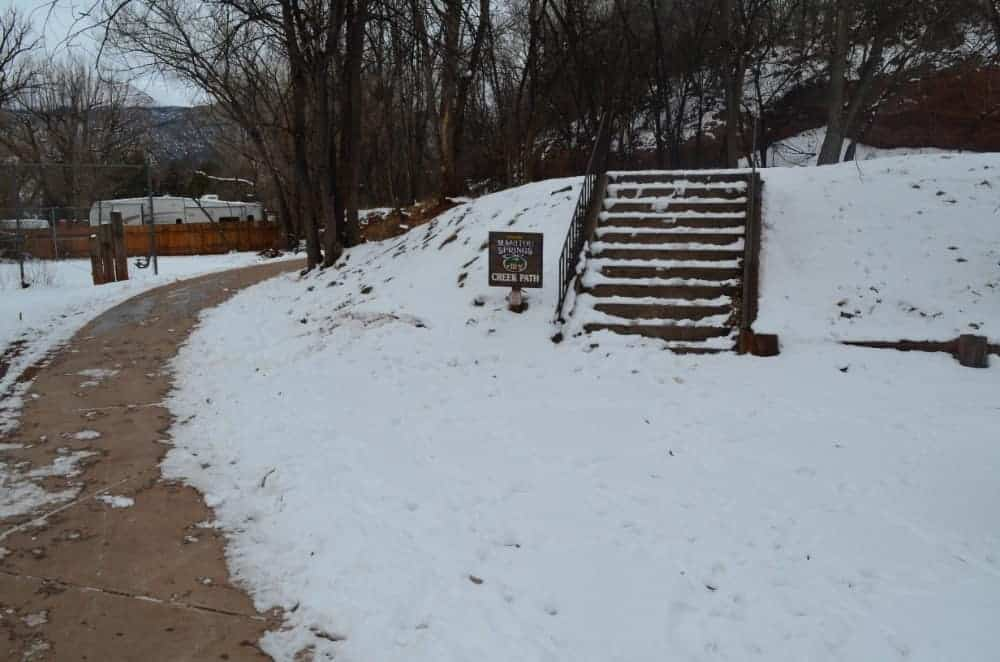 Manitou Springs Creek Walk Trail
