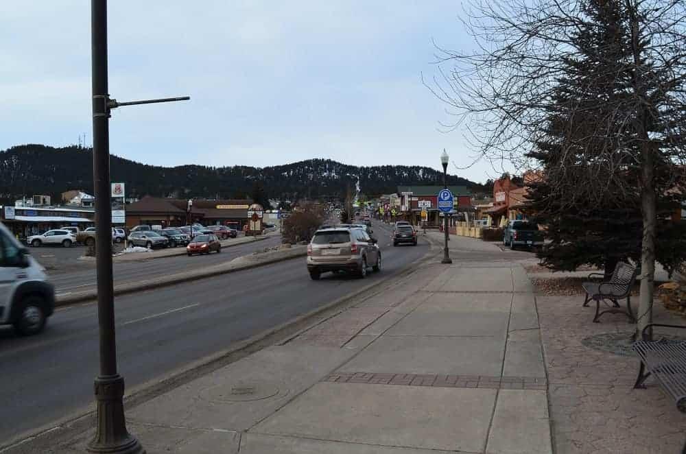 A look down Main Street.