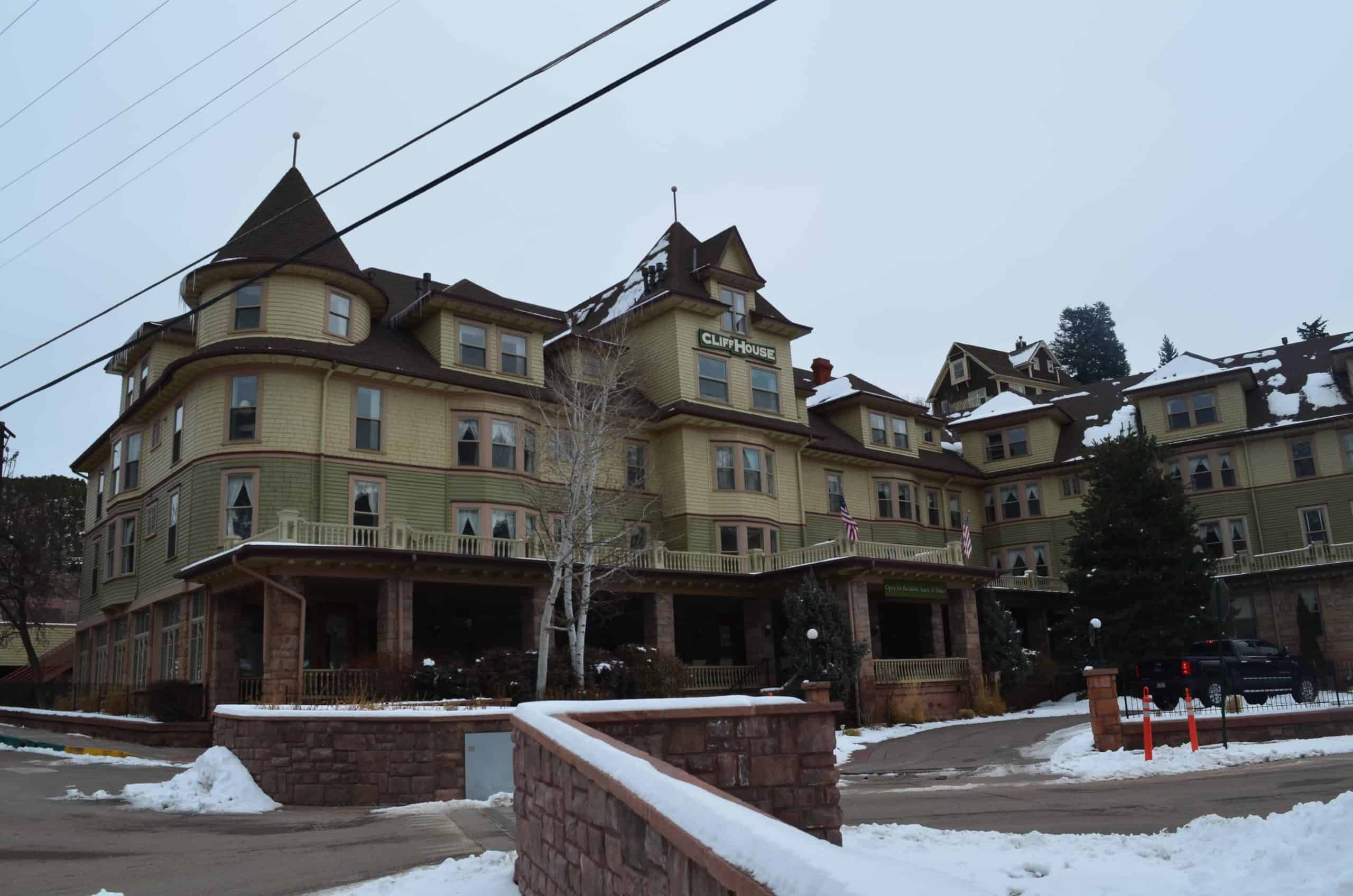 The Cliff House at Pikes Peak