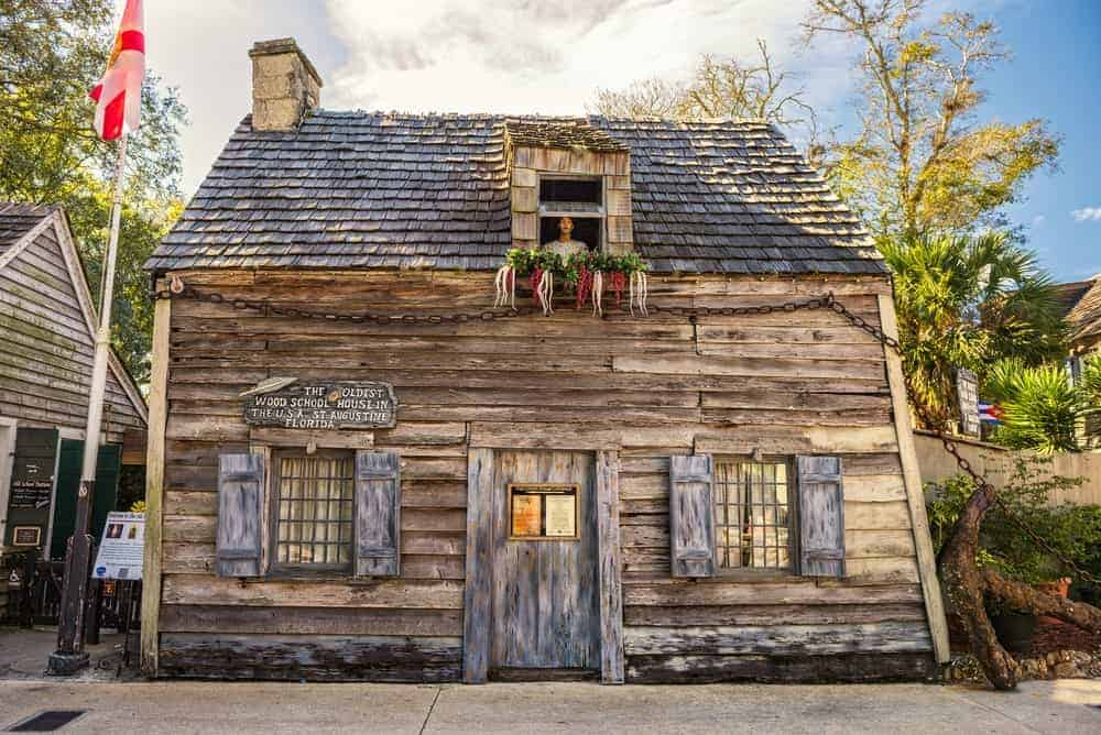Visit the oldest wooden school house in St. Augustine and experience what it feels like to be a student back in the 19th century.