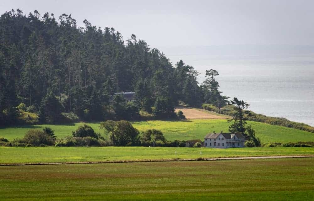 A view of Ebey's Landing National Historic Reserve.