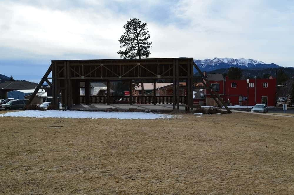 A view of the Ute Pass Cultural Center where the Woodland Music Series is held.