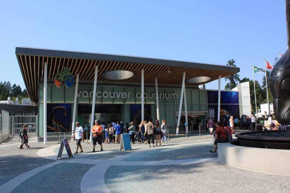 Vancouver Aquarium in Stanley Park, Vancouver