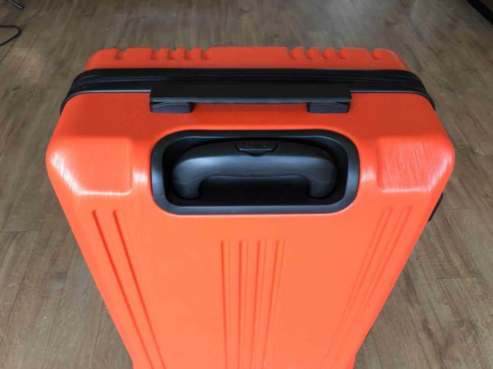 Coolife Suitcase top carrying handle