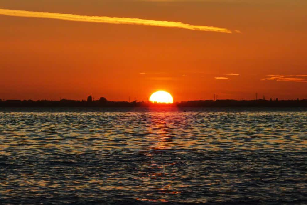 Sunset at Crescent Beach, British Columbia