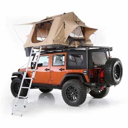 Car-top tent in Tan.