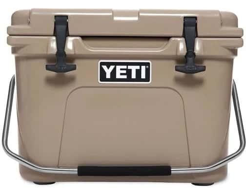 The Yeti Hard Cooler.