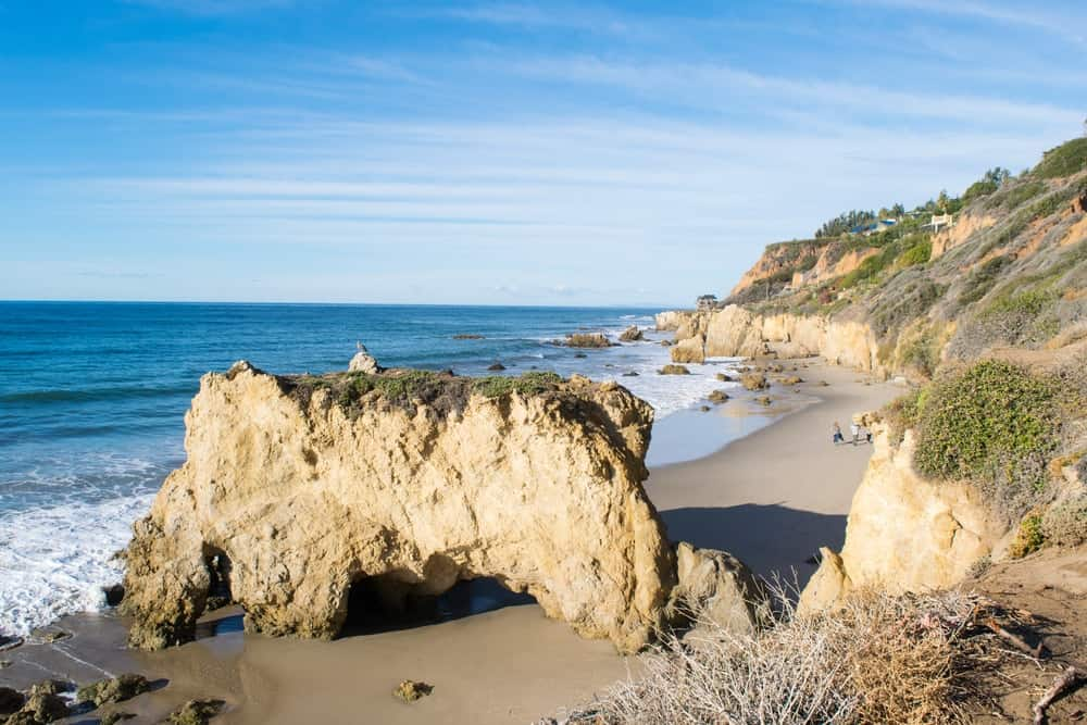 This is a look at the beach in El Matador State Park.