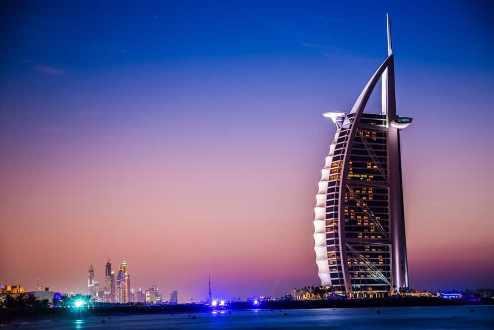 A look at the seven star luxury hotel Burj Al Arab.