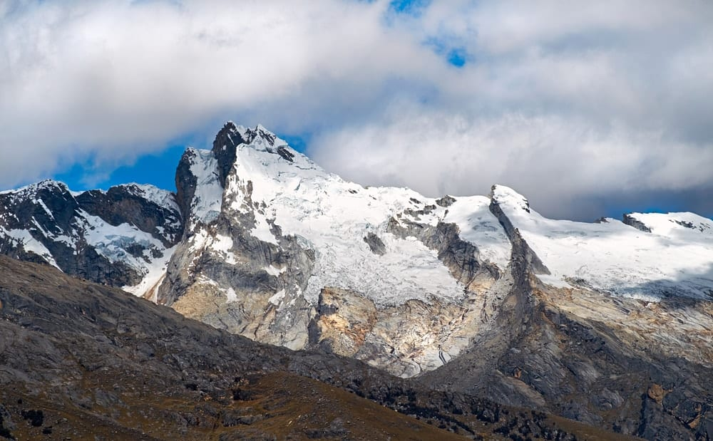Huantsan in the Peruvian Andes, South America