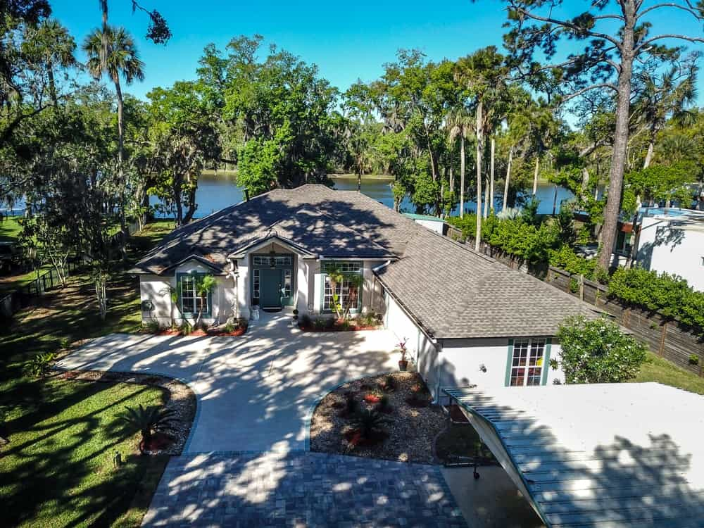 A waterfront home at the Ponte Vedra Beach.