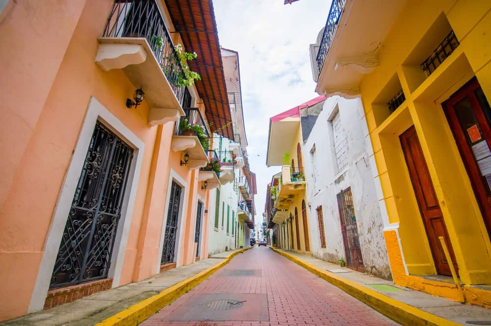 A look at the colorful and historic old town in Panama City.