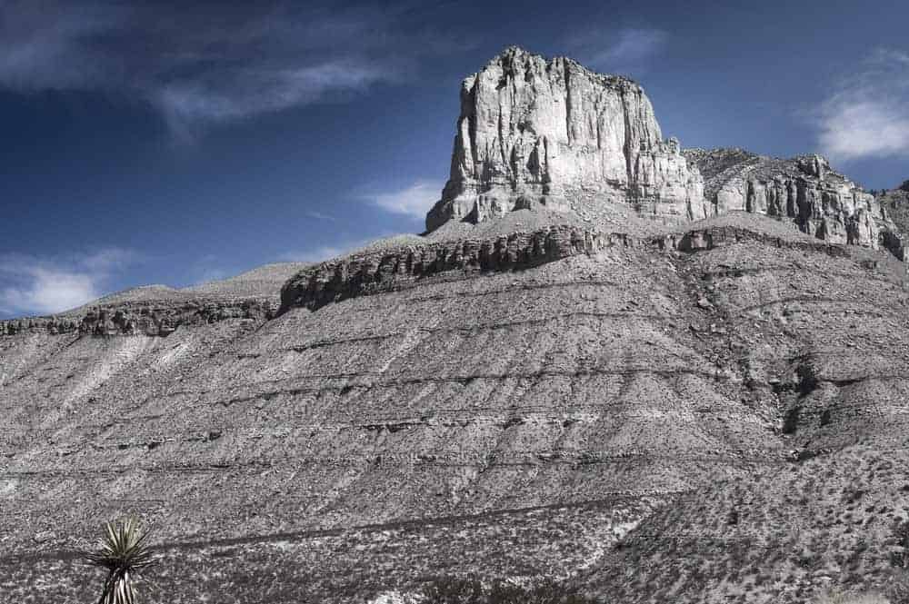 El Capitan in Guadalupe Mountains National Park, Texas.