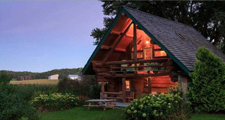The Paul Bunyan Log Cabin in Justin Trails.
