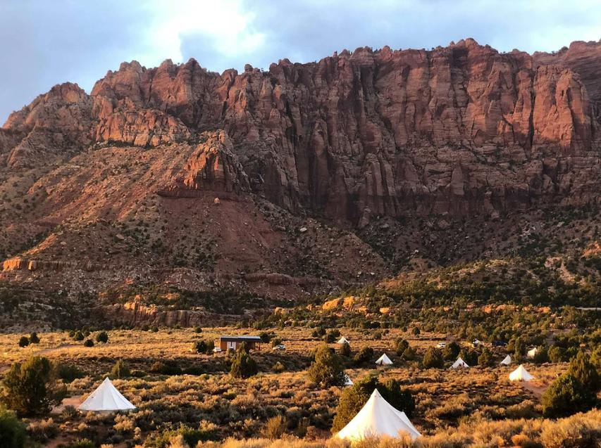 Beautiful Luxury Tents at the Grand Canyon.