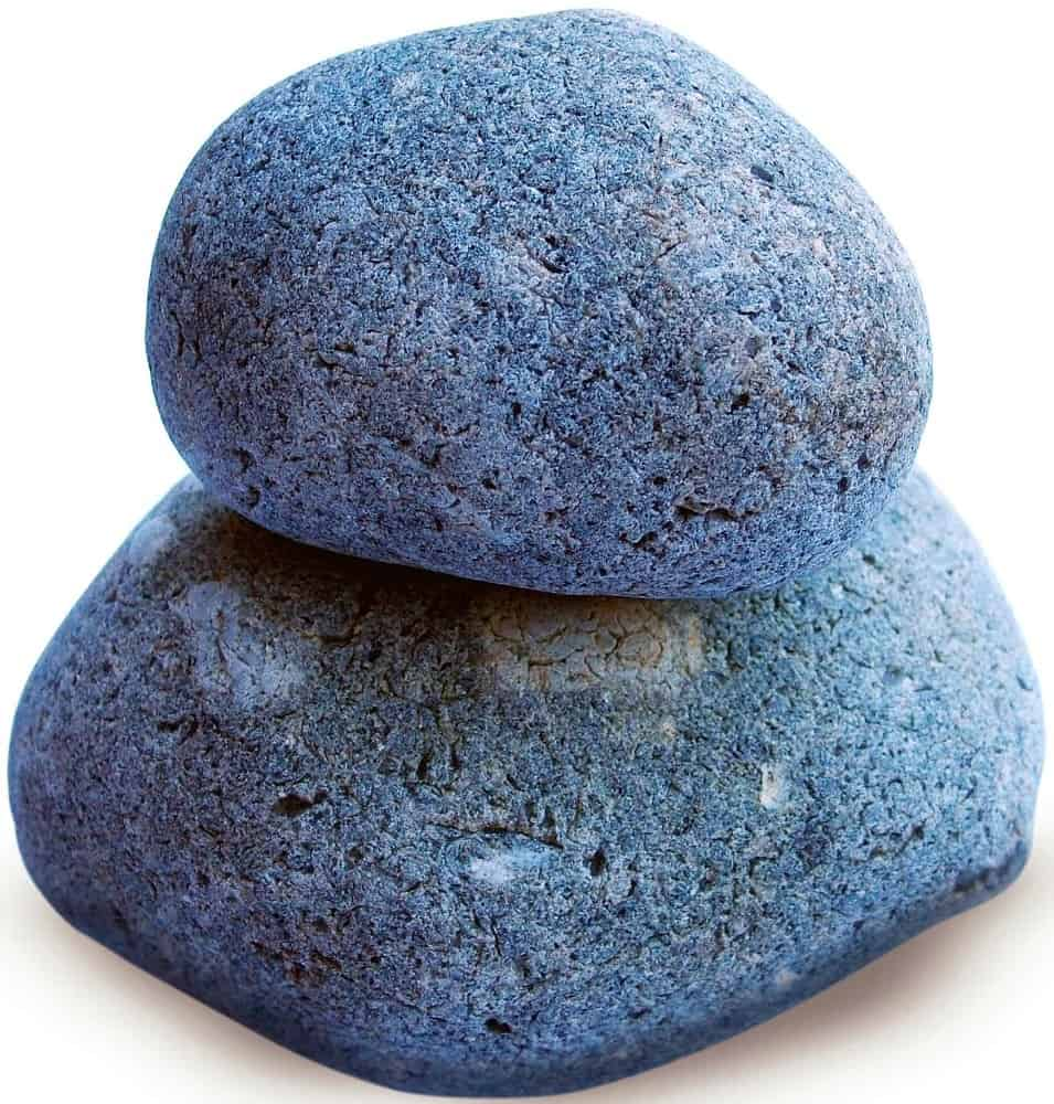 A couple of rocks stacked on top of each other that can be used for a makeshift potty outdoors.
