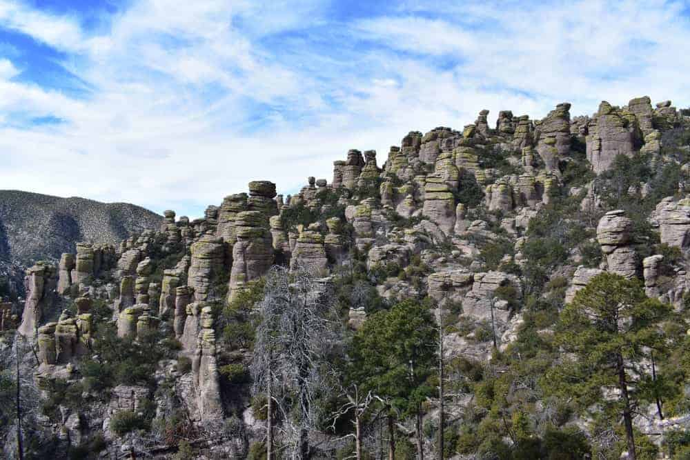 A look at the unique structures of Chiricahua Mountains.