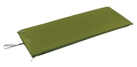MONTBELL UL COMFORT S CAMP PAD 50 150 in green.