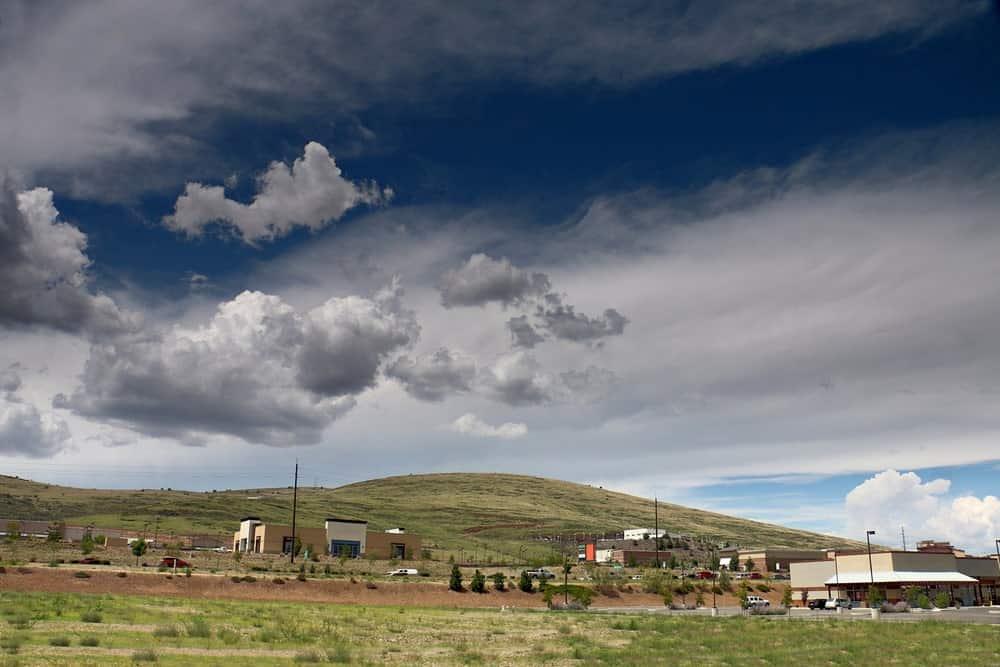 A close look at Mount Baldy in Prescott Valley, AZ.