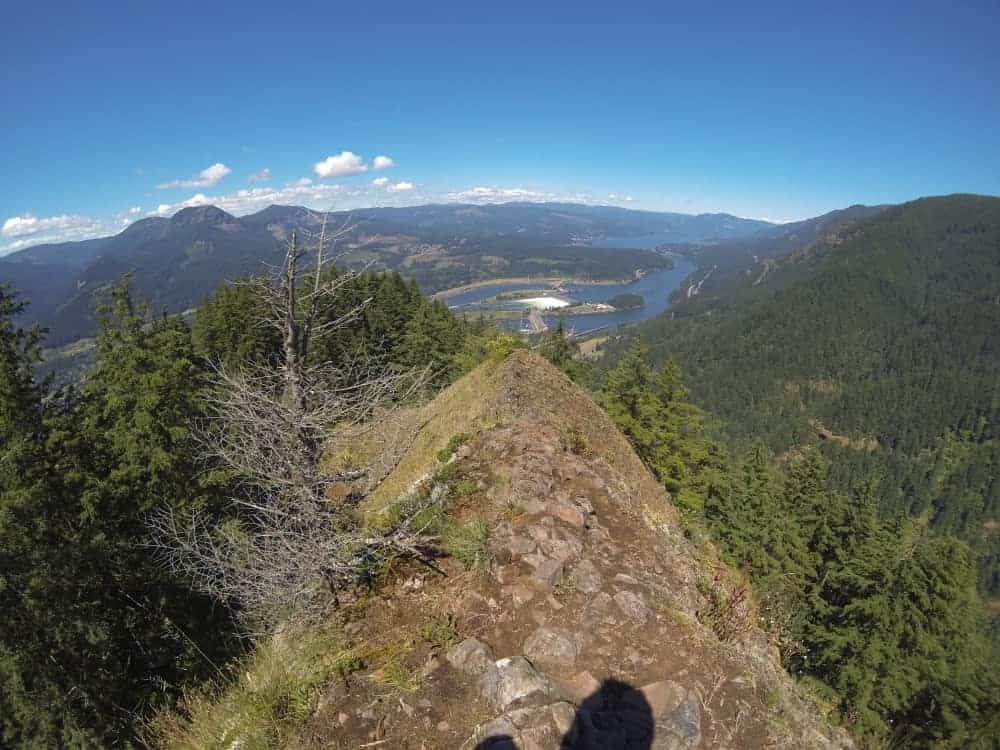 This is an aerial view of Munra Point.