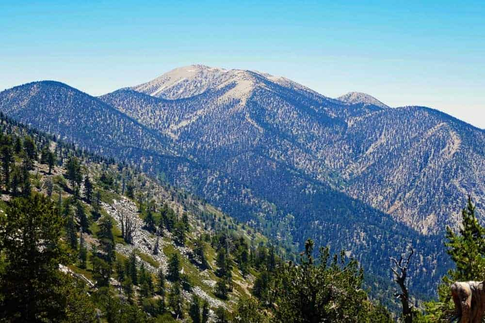 This is an aerial view of the massive San Gorgonio.