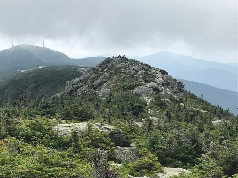A look at the cloudy and rocky Long Trail.
