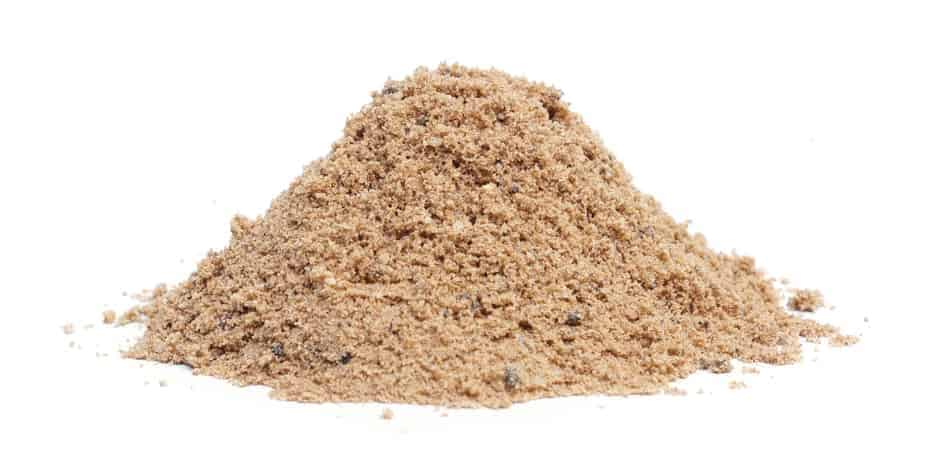 A pile of sand