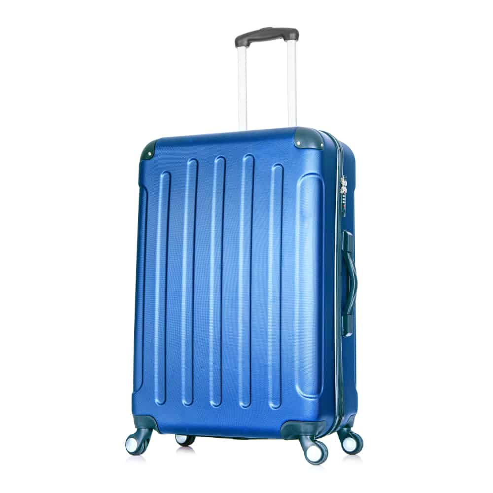 This is a Hardside Luggage with Spinner Wheels in blue.